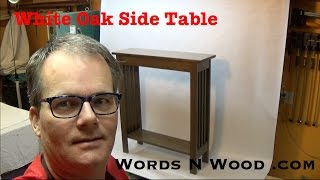 Side Table! Hall Table! Entry Table! WHATEVER. (WnW 34)