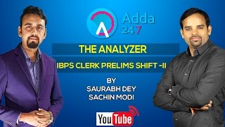 The Analyzer IBPS Clerk Prelims Shift - II