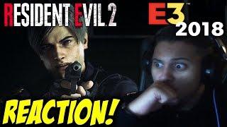 YEEESSS!!! Resident Evil 2 Remake Reveal Trailer | Sony E3 2018 REACTION!