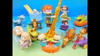 1998 THE RUGRATS MOVIE SET OF 12 BURGER KING KIDS MEAL TOYS VIDEO REVIEW