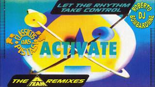 Activate - Let The Rythm Take Control (A-Team Remix) (CD) (P) 1994