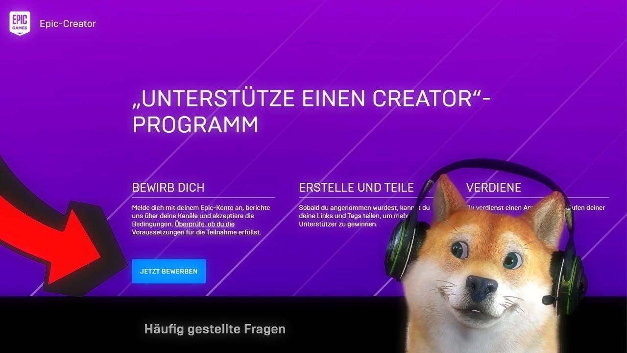 Bewerbung Creator Code Epic Games Box Pvp Season 15 Youtube 9