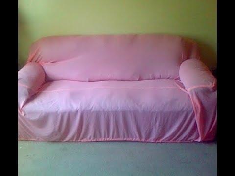 Diy Simple Quick Easy Sofa Cover