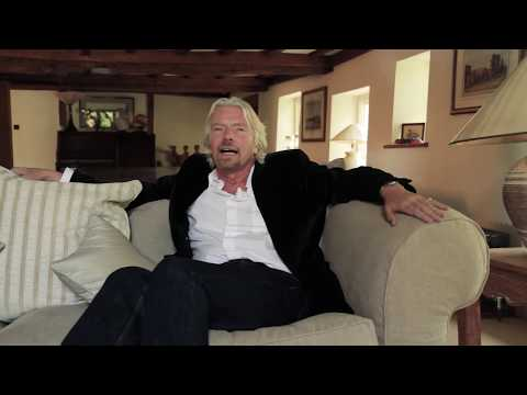Richard Branson talks to Made By Dyslexia
