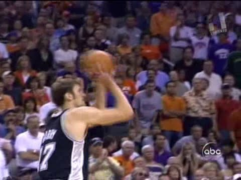 Brent Barry (21pts/5threes) vs. Suns (2005 Playoffs)