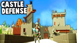 DEFEND The CASTLE!  INVADERS at the Gates! (Ylands Multiplayer Gameplay Funny Moments)