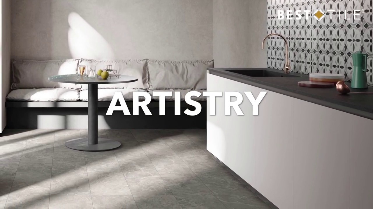 artistry porcelain tile marble look