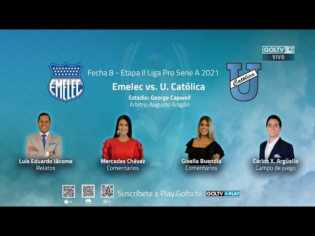 Emelec vs U. Católica (Streaming)
