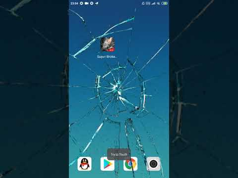 Funny Pranks App Broken Screen Prank Fake Screen Izinhlelo Zokusebenza Ku Google Play
