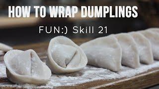 How to Wrap Dumplings [Skill 021]