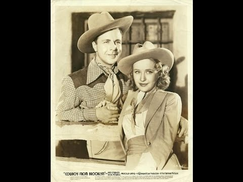 Priscilla Lane  Cowboy from Brooklyn   Dick Powell