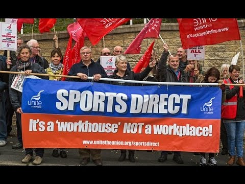 James O'Brien vs Mike Ashley's Sports Direct workhouse