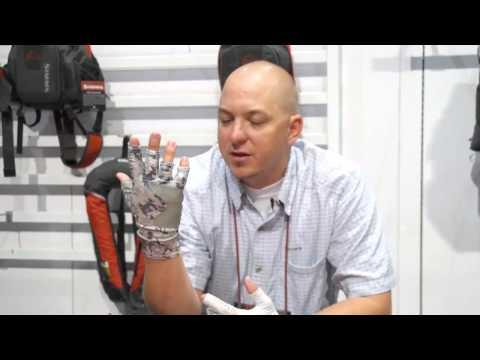 Simms Solar Flex Guide Glove And Sun Glove | ICAST 2013