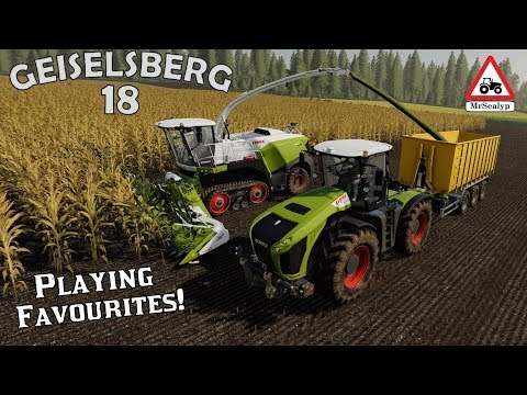 GEISELSBERG, #18, Playing Favourites! Farming Simulator 19, PS4, Let's Play/Role Play.