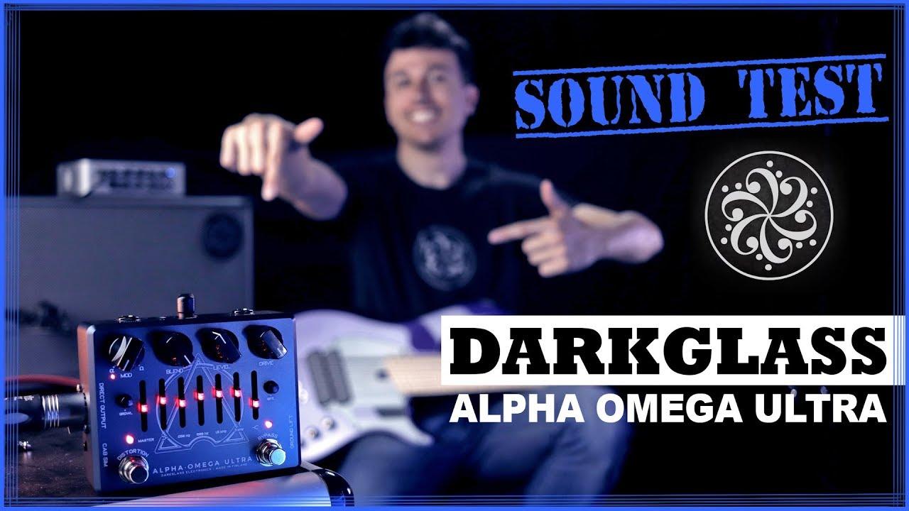 Darkglass Alpha Omega Ultra - Bass Demo | SOUND TEST [ENG] Chords