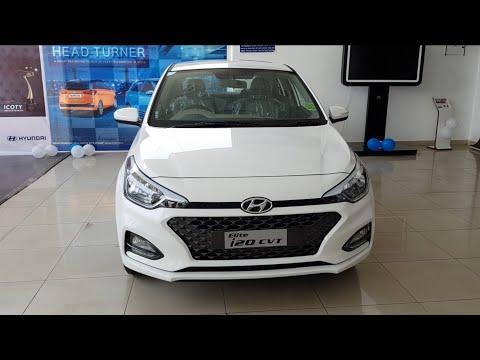 2018 Hyundai Elite i20 CVT Automatic Asta detailed review