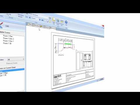 Cabinet Vision Tutorial (Basics- 4) - Printing Plans