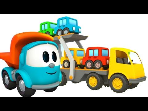Leo O Caminhao Curioso Caminhao Pipa Desenho Animado Youtube