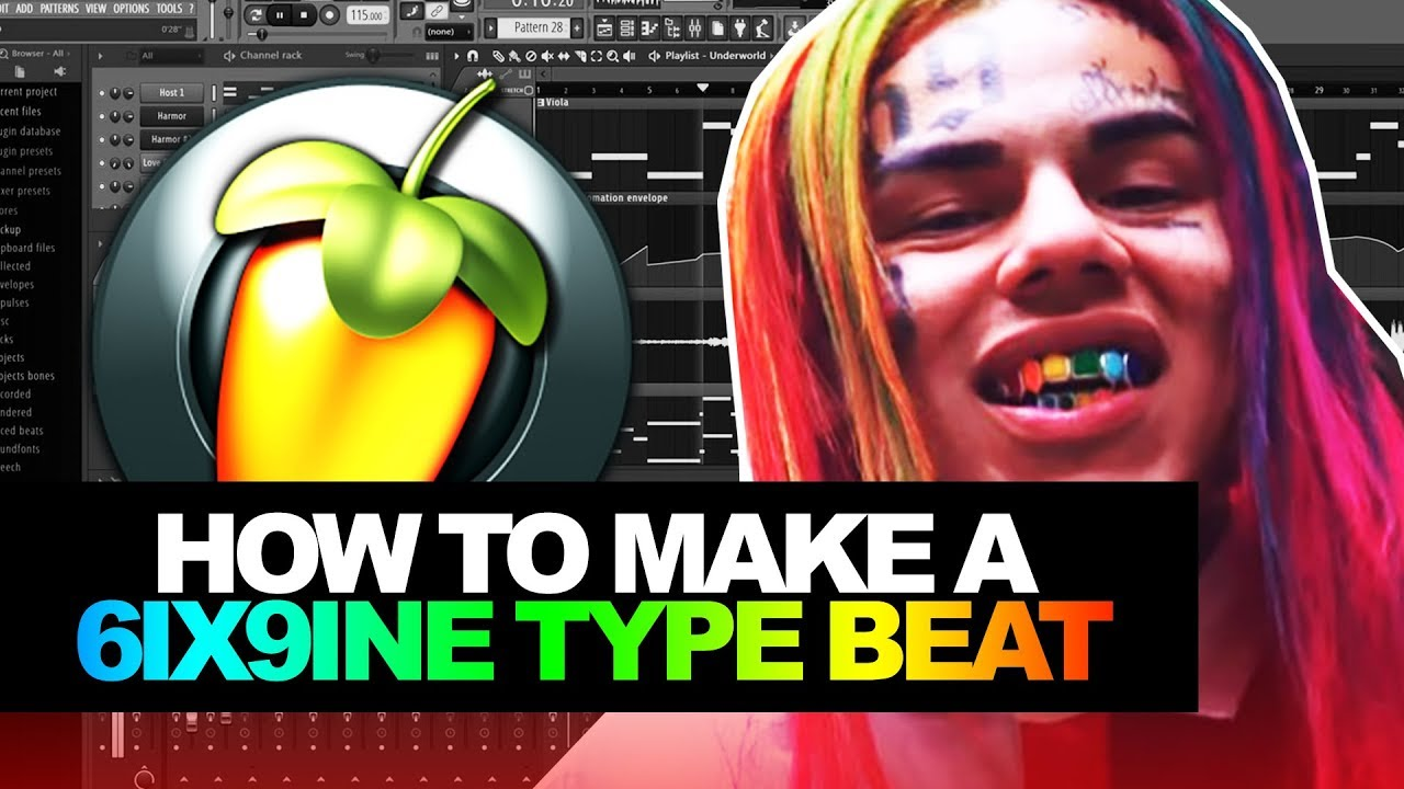 HOW TO MAKE A 6IX9INE TYPE BEAT (EASY) | TEKASHI 69 | How To