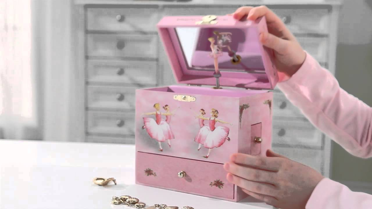 Ballerina Musical Treasure Box by Enchantmints from Reeves