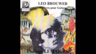 Philippe Lemaigre play Cancion de Cuna (Berceuse) ( Leo Brouwer )