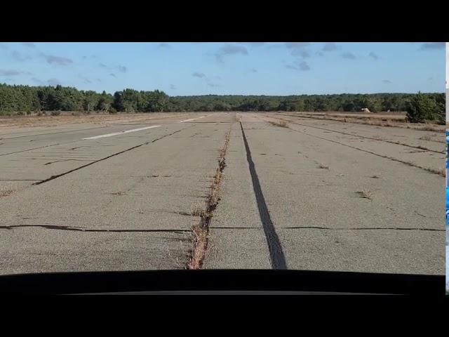 A ride down the runways at the old Grumman Calverton plant.