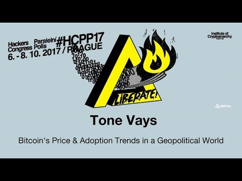 Tone Vays - BITCOIN'S PRICE & ADOPTION TRENDS IN A GEOPOLITICAL WORLD | HCPP17