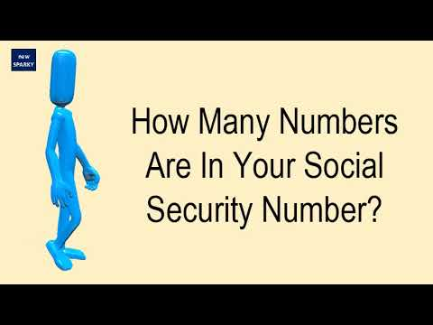 How Many Numbers Are In Your Social Security Number?