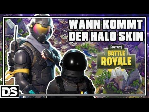 Fortnite Battle Royale Deutsch - Wann kommt der Halo Skin? (Fortnite Gameplay German)