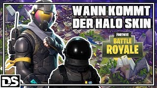 Fortnite Battle Royale English - When will the Halo Skin come? (Fortnite Gameplay English)