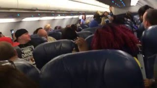 Drunk bitch gets kicked off American Airlines flight and arrested