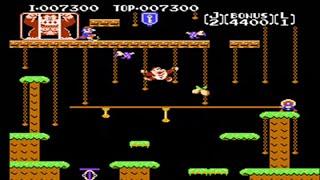 Donkey Kong Jr - Nes - Full Playthrough ( Game A Game B ) -No Hits Run