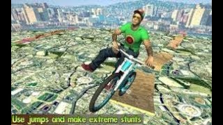 BMX Stunts Kids Bicycle Crazy Rider impossible bike Racing Games for Android Or ios