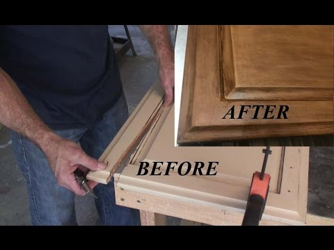 How to fix Cabinet Doors W Basic Tools YouTube
