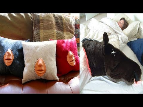 Most Creative & Unusual Pillows