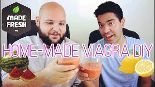 Making Home-Made VIAGRA With NATURAL Ingredients?!?