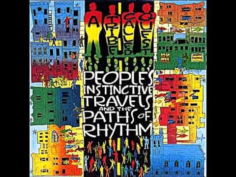A tribe called quest rhythm devoted to the art of moving butts