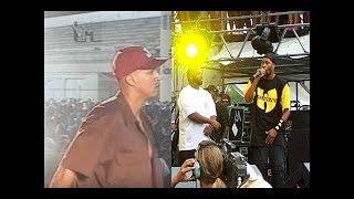 Wu-Tang Clan Pela Primeira Vez No Brasil Matéria Com Grupos Nacionais [2000]