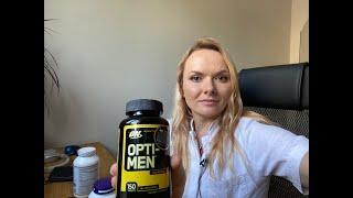 Витамины OPTI MEN  от врача по полочкам