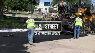 12th St. Construction Update: August 2021