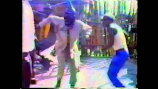 Rub-a-dub dancing couple and strictly roots skankin' at Sunplash Jamaica '87
