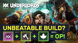 UNBEATABLE BUILD?! Top Meta Warlock + Brutes + Druids Build! | Dota Underlords