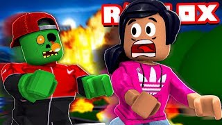 #1 ROBLOX ZOMBIE RUSH UFO Spaceship Friend & Candy Land With DJ's Clubhouse