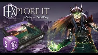 HEXplore It: The Valley of the Dead King - 3 player Double Up