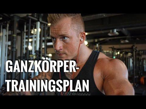 GANZKRPERTRAININGSPLAN - ANFNGER/ FORTGESCHRITTENE