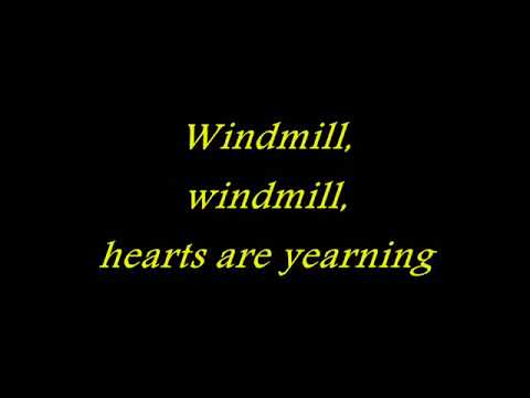 Helloween   Windmill with lyrics