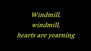 Helloween   Windmill with lyrics