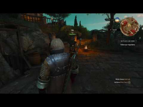 The Witcher 3 DLC: Blood and Wine pt11 - Guided Vinyard Tour/Tournament Training