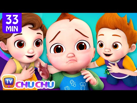 Baby Is Sick Song + More Nursery Rhymes By ChuChu TV