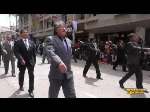 I.E. San Ramon de Tarma desfile 2017 Parte 2 EX ALUMNOS